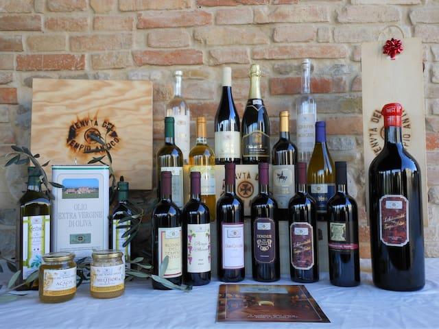 vino e prodotti tipici