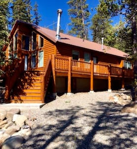 Beautifully decorated family cabin