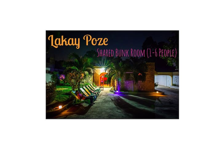 Lakay Poze (Shared Bunk BR) 2 meals included - Port-au-Prince - Haus