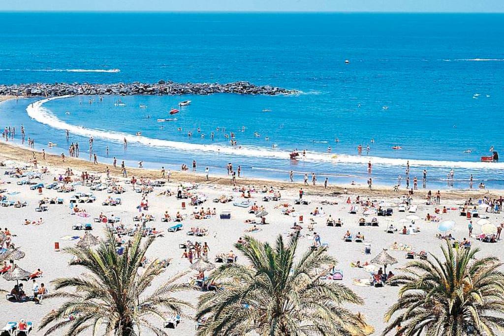 Beach of Costa Adeje