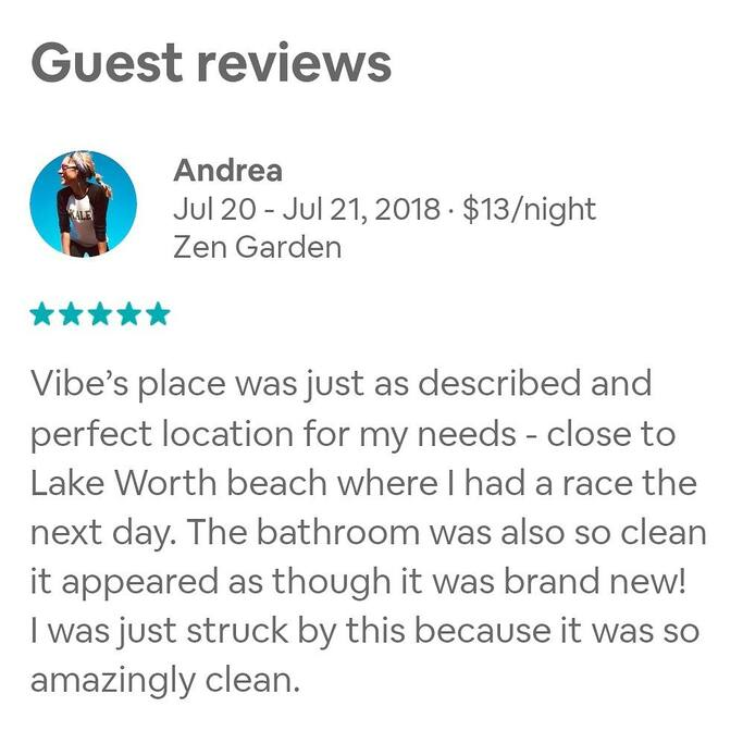 Five Star Review!