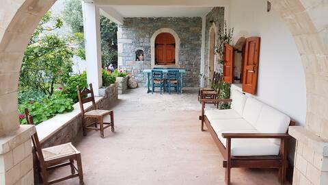 Beautiful traditional Cretan stone house