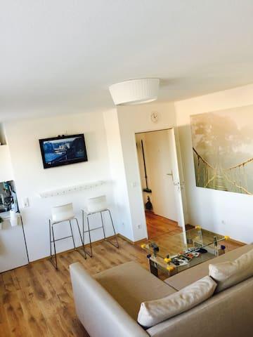 Kleines Penthouse Studio im Centrum Hauptbahnhof - Nürnberg - Apartment