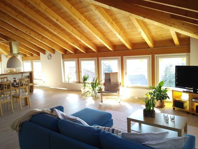 Ampio appartamento luminoso con vista panoramica