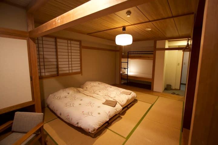 Villa Nozawa - Spacious room up to 4