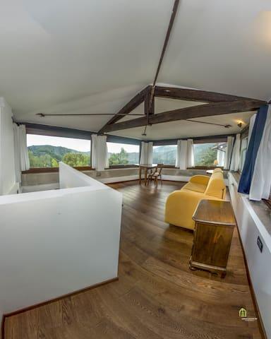 Casa rustica con vista panoramica