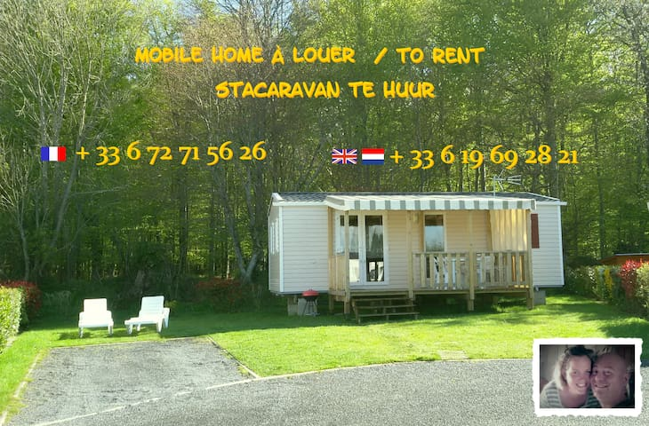 Mobile home 4/6 pers parc SIBLU LITTEAU - Litteau - Bungalov