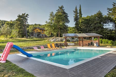 quiete,natura,piscina panoramica - Bibbiano - Bed & Breakfast