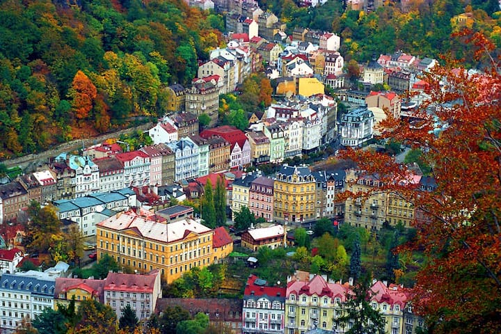 Private room- Karlovy Vary centre - Karlowe Wary - Apartament