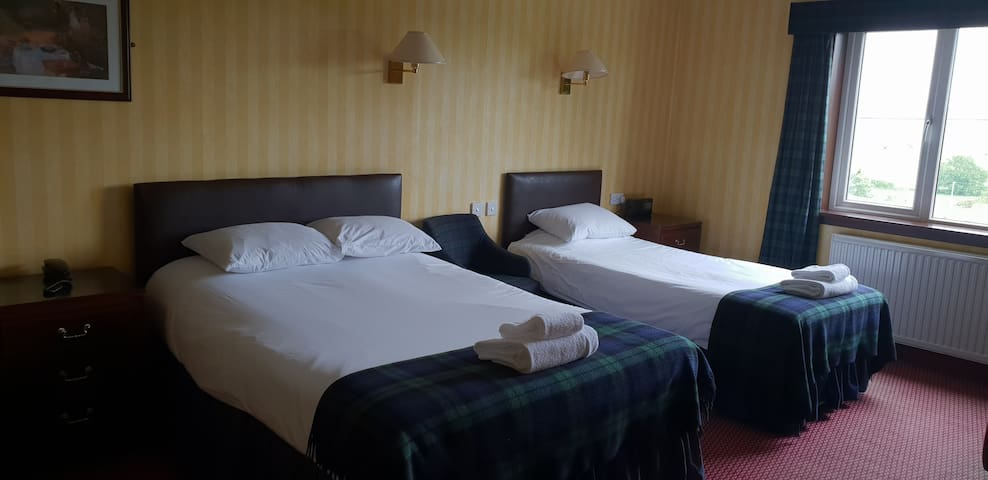 Triple Room ( One Double + One Single Bed)