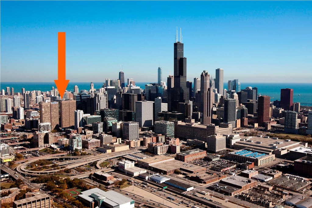 Great location (see the arrow!!!!).