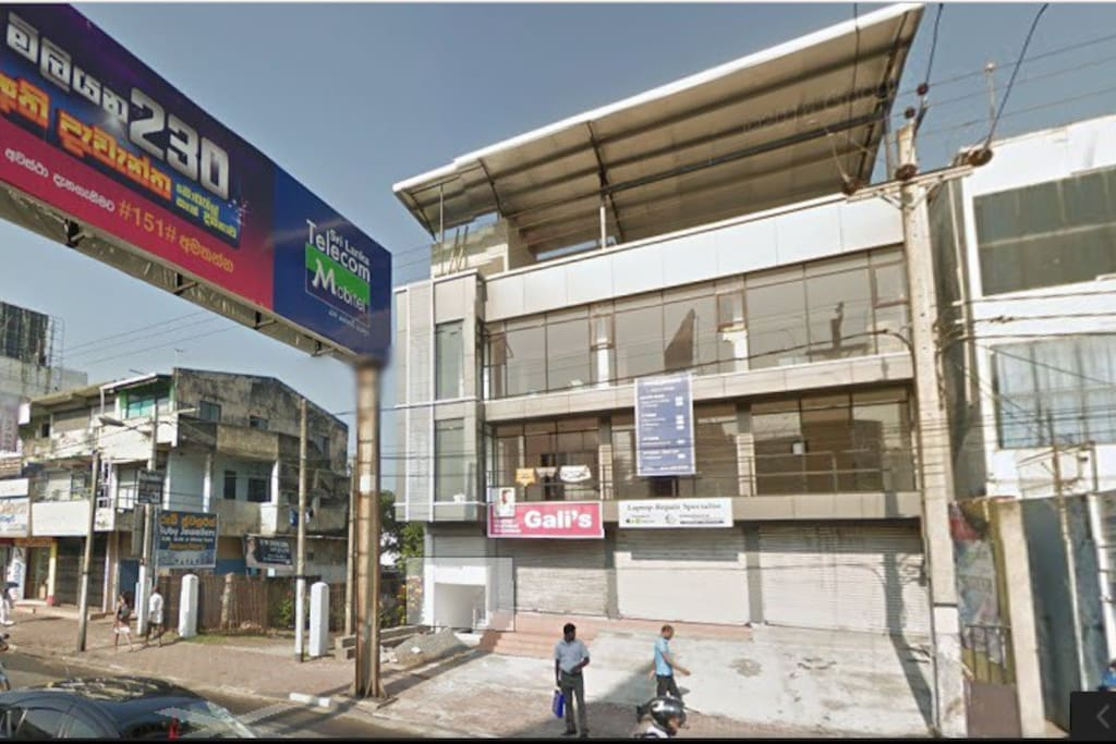 You need to find this building on Galle Road Dehiwala, just past the flyover in Dehiwala
