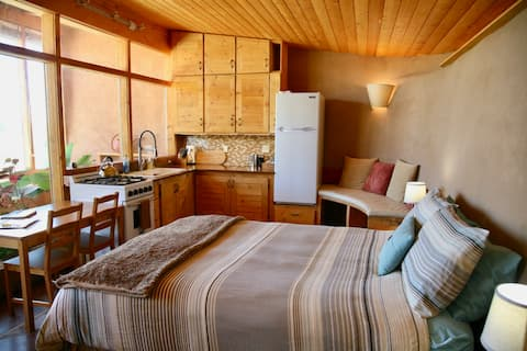 Taos Earthship: Tiny House