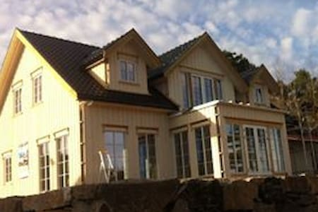 Nytt hus som ligger litt utenfor Arendal. - Arendal