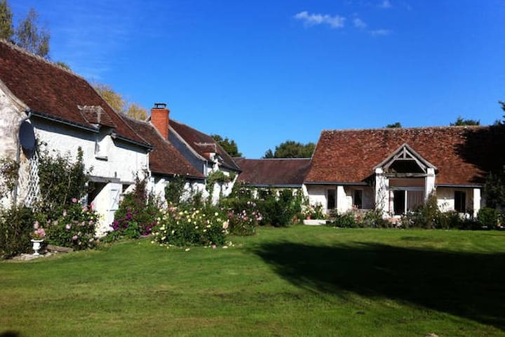 Charming B&B in the Souht Loire Valley - Vou - บ้าน