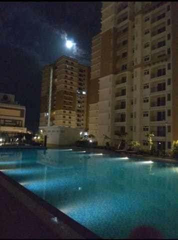 Furnished with beautiful Pool view apartment