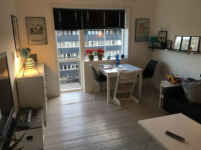 Nice little apartment, close to metro and shopping - Kopenhagen - Wohnung