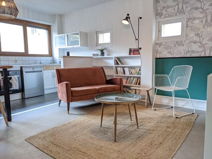 Appartement chaleureux situé dans l'hyper centre !
