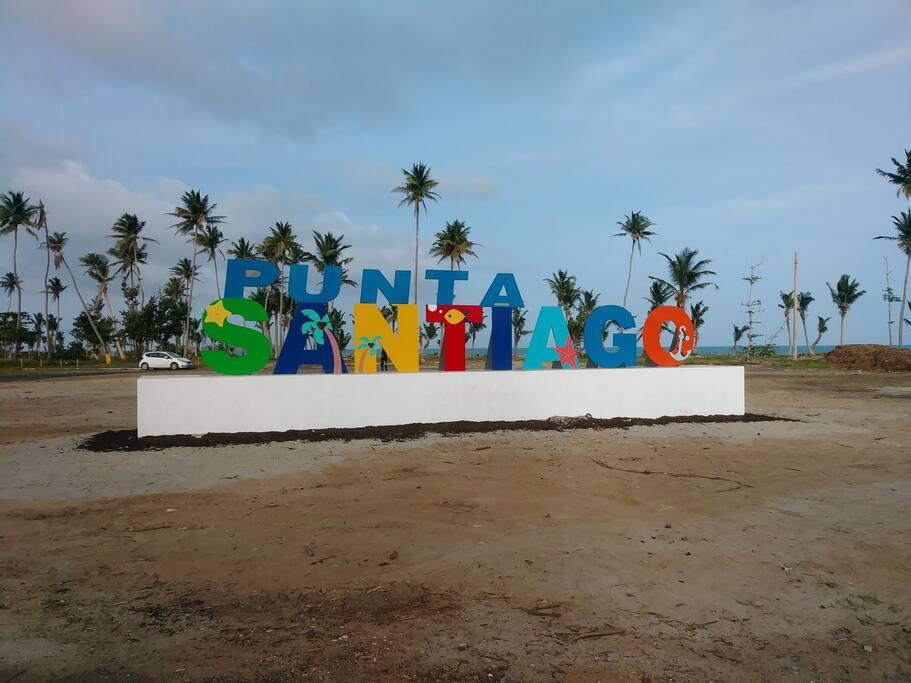 Punta Santiago Public Beach