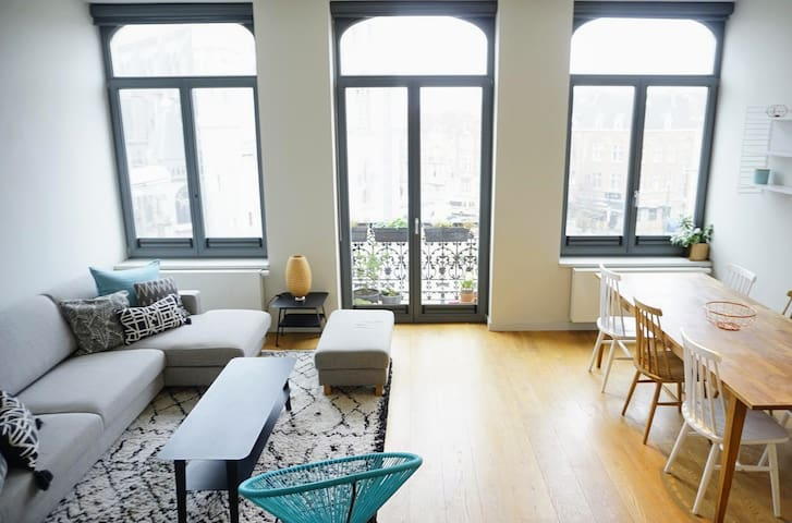 Appart 86m² moderne lumineux & cosy - St Antoine