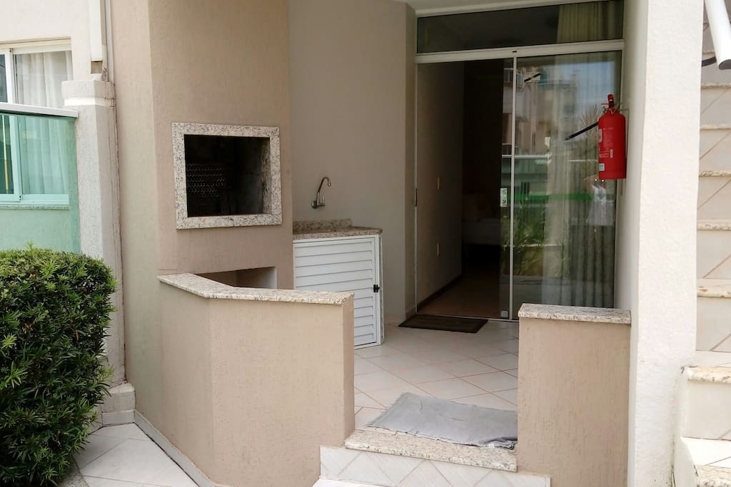 Área da frente do apartamento
