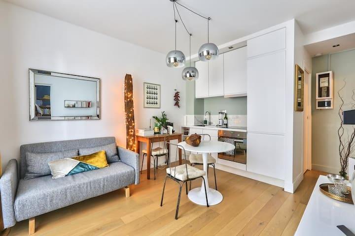 Appartement cocooning lumineux bien situé