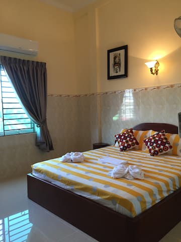 Homestay near Phnom Penh Airport.