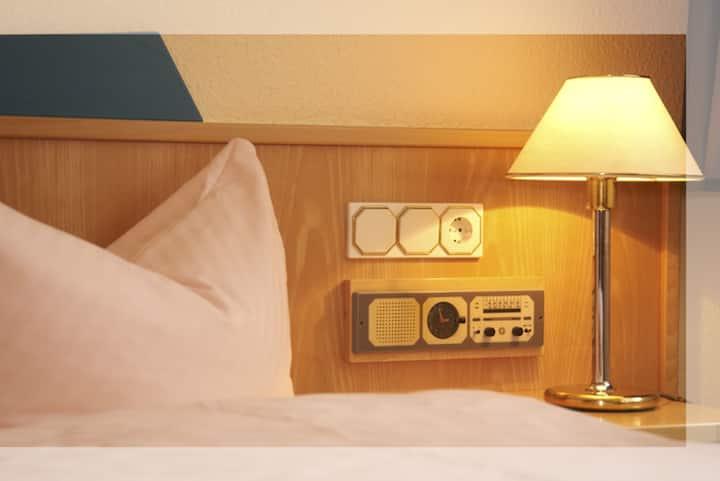 Hotel An der Stadtmauer (Mühlhausen) - LOH05579, Doppelzimmer mit Dusche/WC