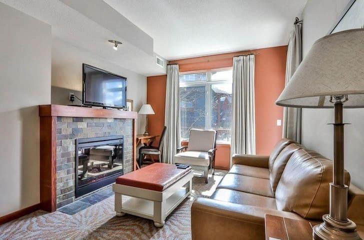 Living room area.