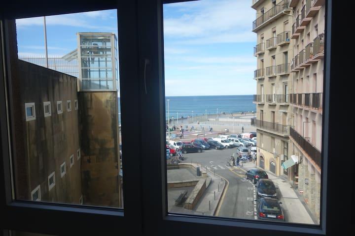 Una habitación con vistas... a la playa