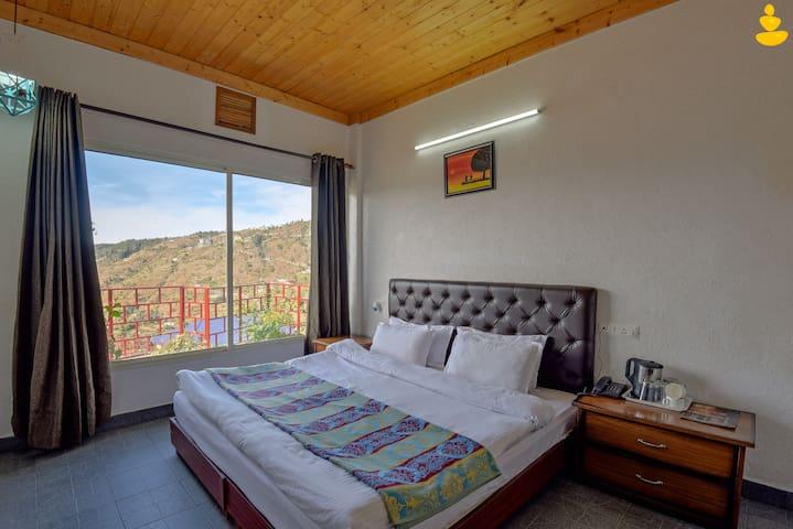 LivingStone-Eco Resort | Deluxe Room | Chail |