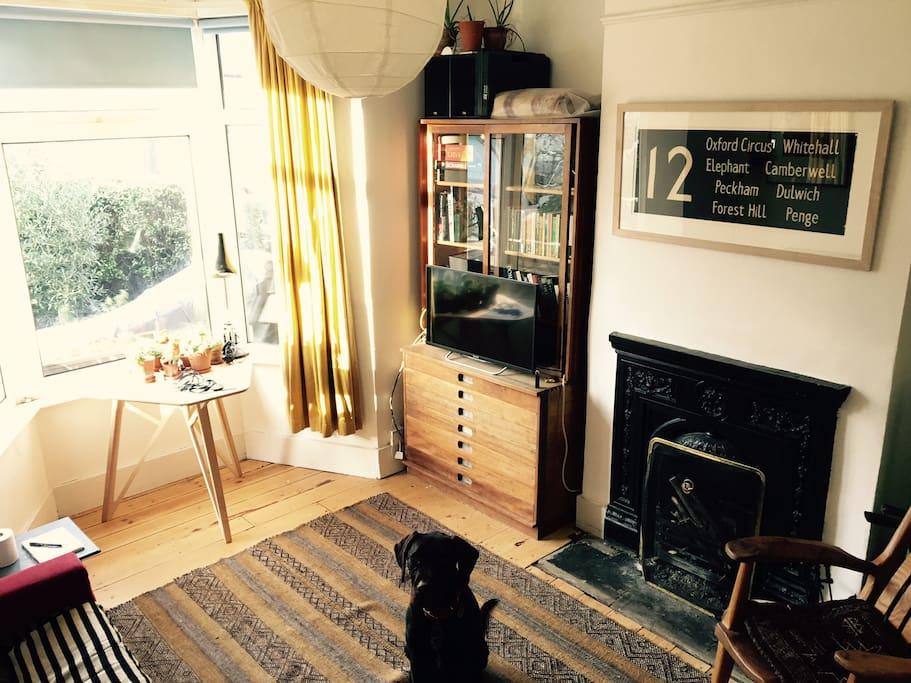 Sunny shared sitting room