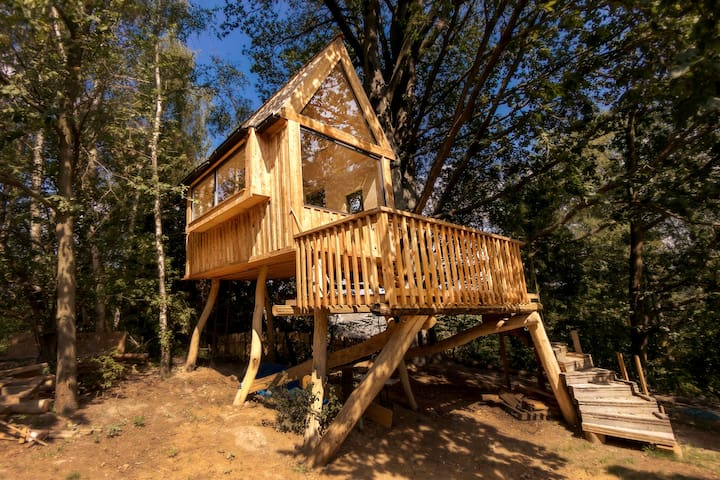 ☼ Magnificent Tree House Surrounded by Nature ☼