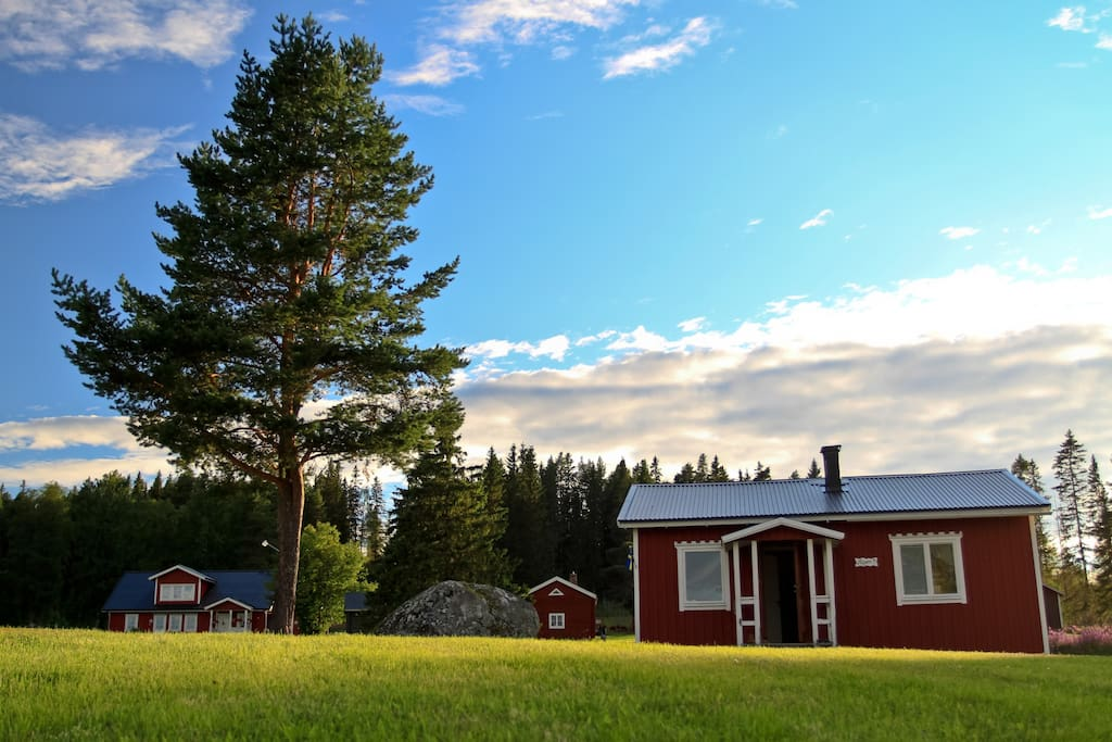 Cottages In Lapland North Of Sweden R 214 Nnen Chalets