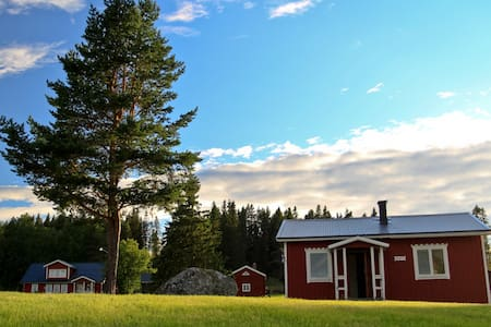 Cottages in Lapland - North of Sweden - RÖNNEN