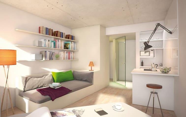 modern apartment near Prater and WU