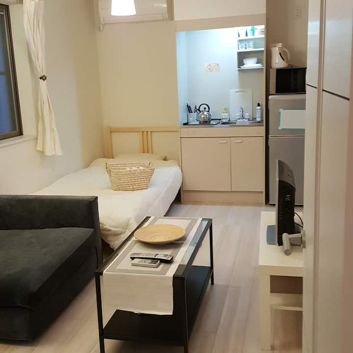 Private studio 2 mins from Station!