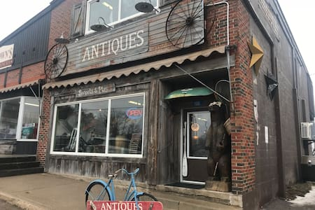 Come stay in an old Antique Store