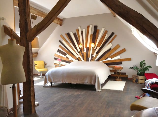 Chambre d'hôte de charme / Giverny - Autheuil-Authouillet - Bed & Breakfast