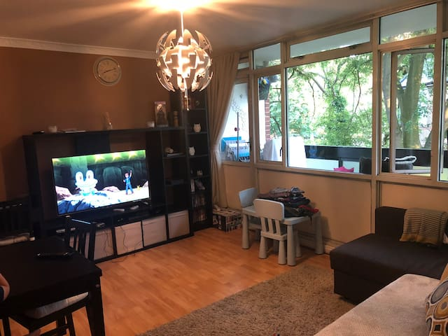 Helpful host in a family cozy flat