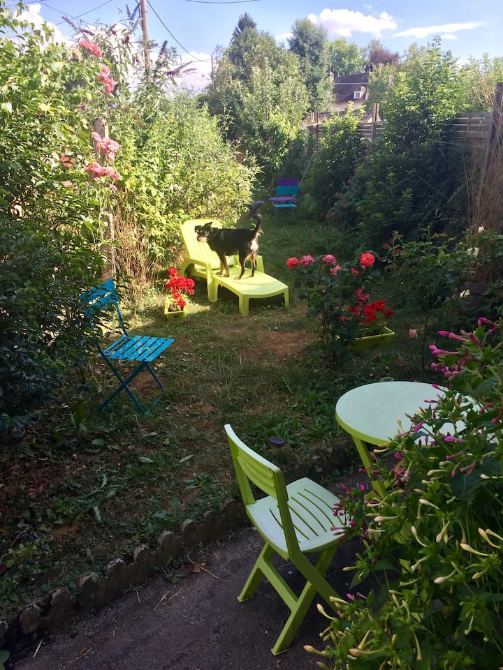 Le Jardin de Popeye, Chambre Rose