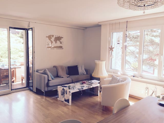 sunny room close to the old town - Zürich - Appartement