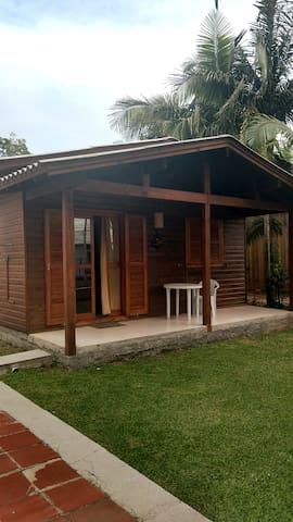 Minha casinha de madeira