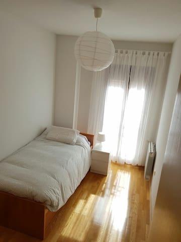 Habitación muy tranquila y silenciosa con WIFI