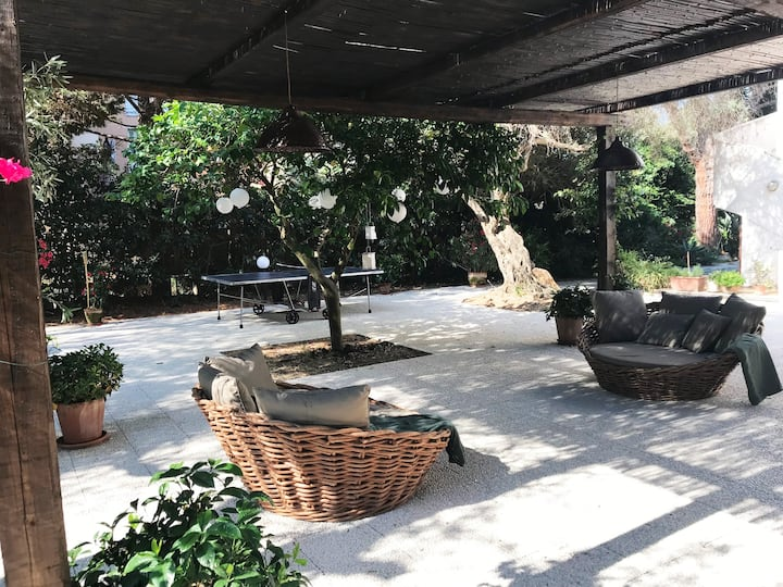 Sicilian home 150 meters from a wonderful beach