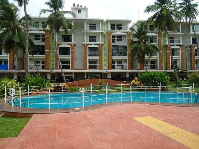 1BHK Apartment In Candolim: CM074 - Candolim - Appartement