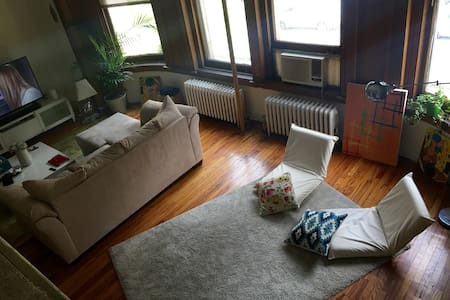 Sunny Loft near Central Park in UWS - New York