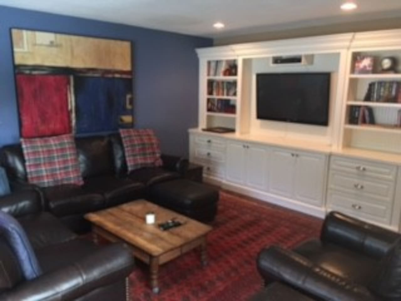 Living room - big screen TV - seating for all