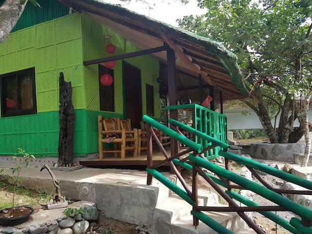 Nature green forest resort, big cottage