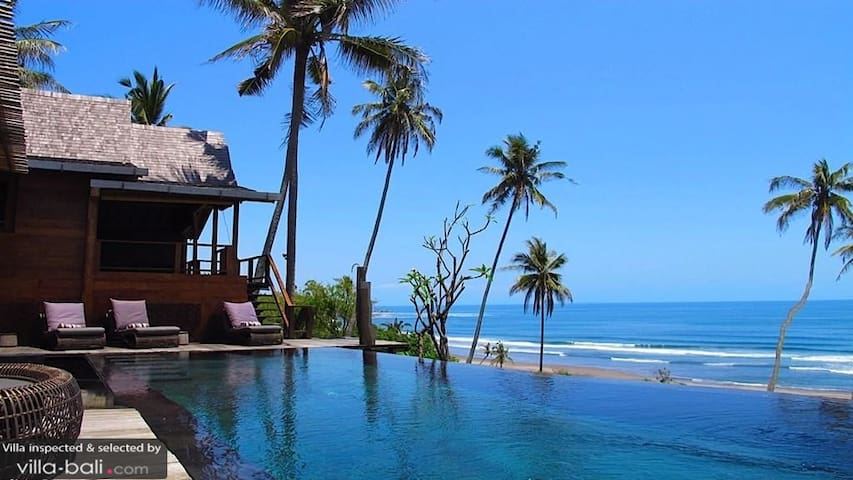 Tao Villa BeachFront, Balian Beach - West Selemadeg - House